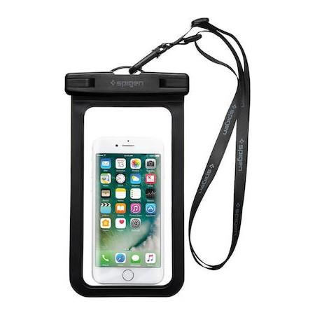 Spigen® Velo™ A600 000EM21018 IPX8 Certified Universal Waterproof Case – Black