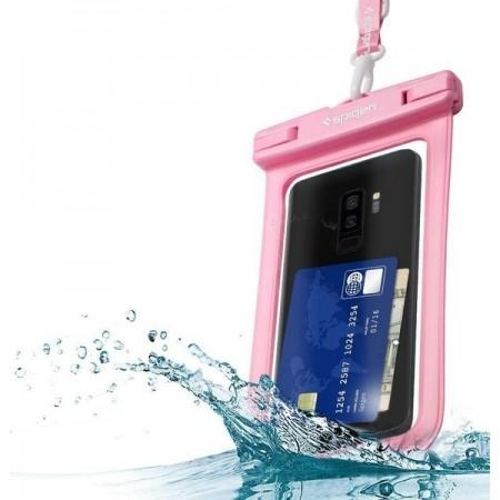 Spigen® Velo™ A600 000EM23353 IPX8 Certified Universal Waterproof Case – Rose