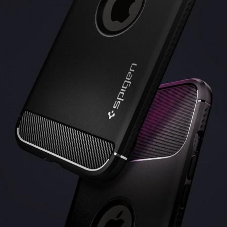 Spigen Rugged Armor Apple iPhone 12 Pro Max Matte Black