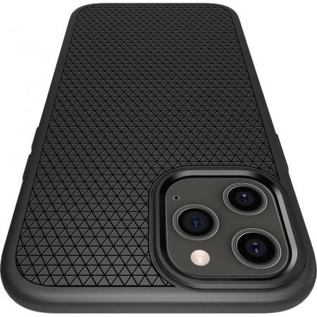 Spigen Liquid Air Apple iPhone 12 Pro Max Matte Black