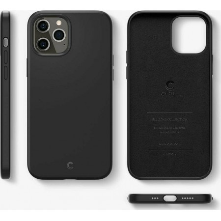 Spigen Cyrill Silicone For Iphone 12 Pro Max Black