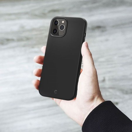Spigen Cyrill Silicone For iPhone 12/12 Pro Black (ACS01736)
