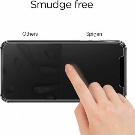 Spigen® GLAS.tR Full Cover HD  iPhone 12 Pro Max Premium Tempered Glass Screen Protector AGL01468