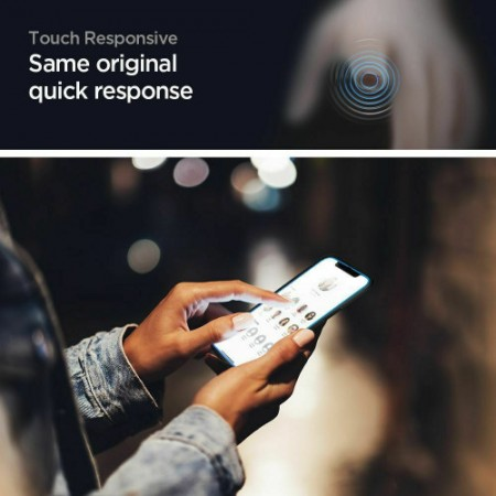 Spigen GLAS.tR Full Cover HD iPhone 12 Mini Premium Tempered Glass AGL01534