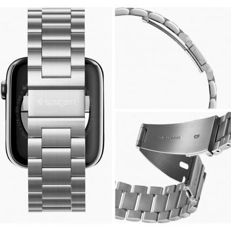 Spigen® Modern Fit Apple Watch 4/3/2/1 SE - 42/44mm – Silver (062MP25404)