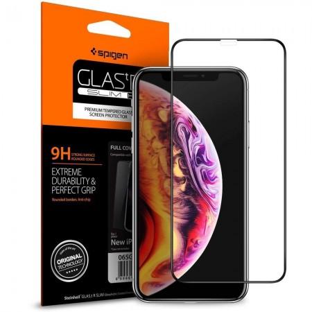 Spigen® GLAS.tR Full Cover HD 063GL25234 iPhone 11 Pro Black
