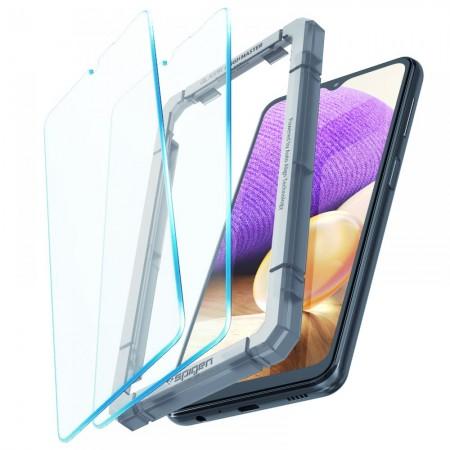 Spigen® (x2.Pack) GLAS.tR ALIGNmaster™ Full Cover HD AGL02827 Samsung Galaxy A32 5G / A12