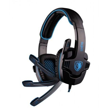 SADES GAMING headset USB - 7.1CH WOLFANG