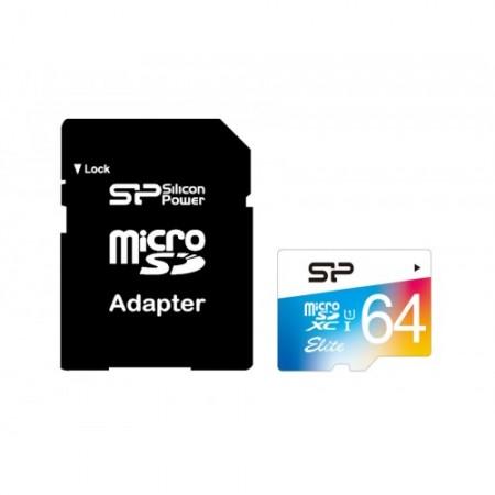 Silicon Power Elite micro SDXC UHS-1 64GB