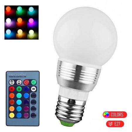 Large LED LAMP RC E27 5W