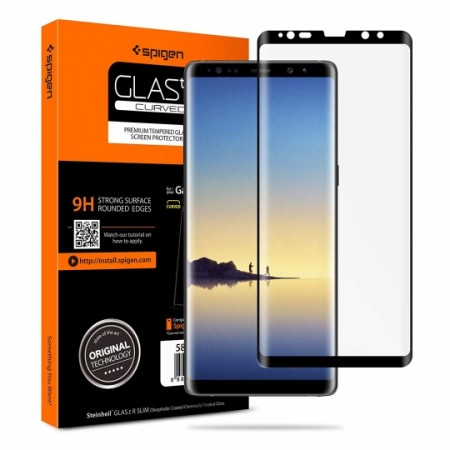 SPIGEN GLAS.TR CASE FRIENDLY GALAXY NOTE 8 BLACK
